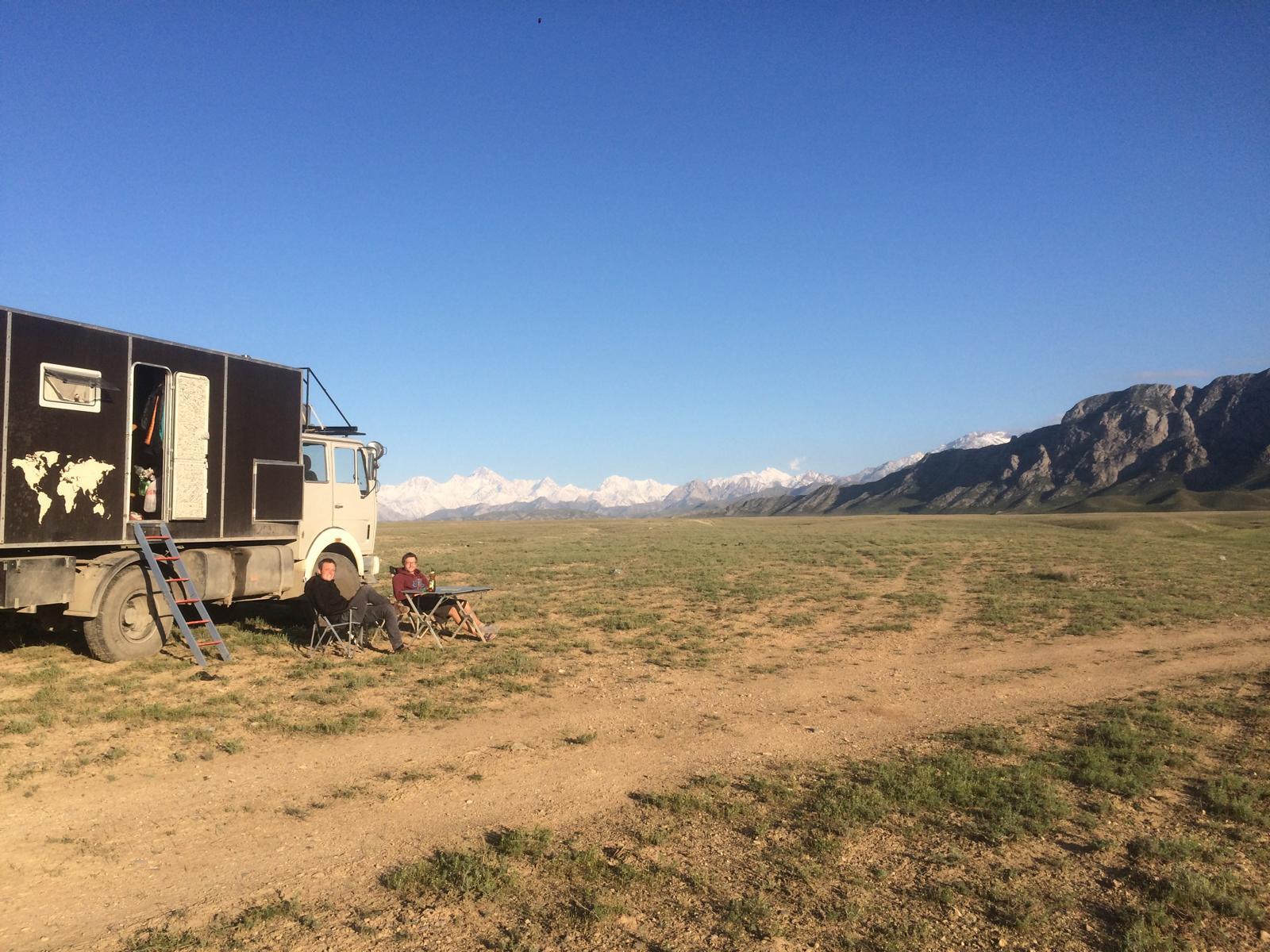 Endlich wieder in Kirgistan